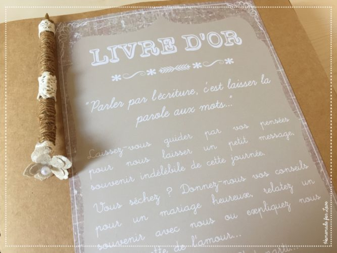 inspirations, guest book, mariage