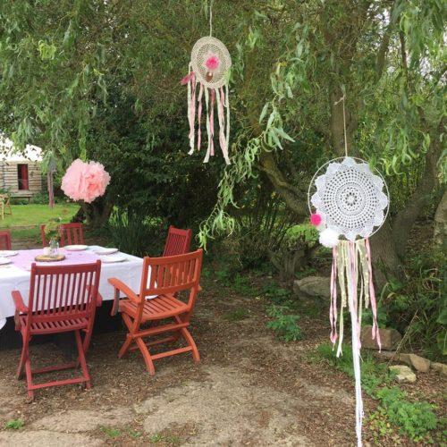 décoration homemade par les mariés, saison 2018, mariage en Normandie
