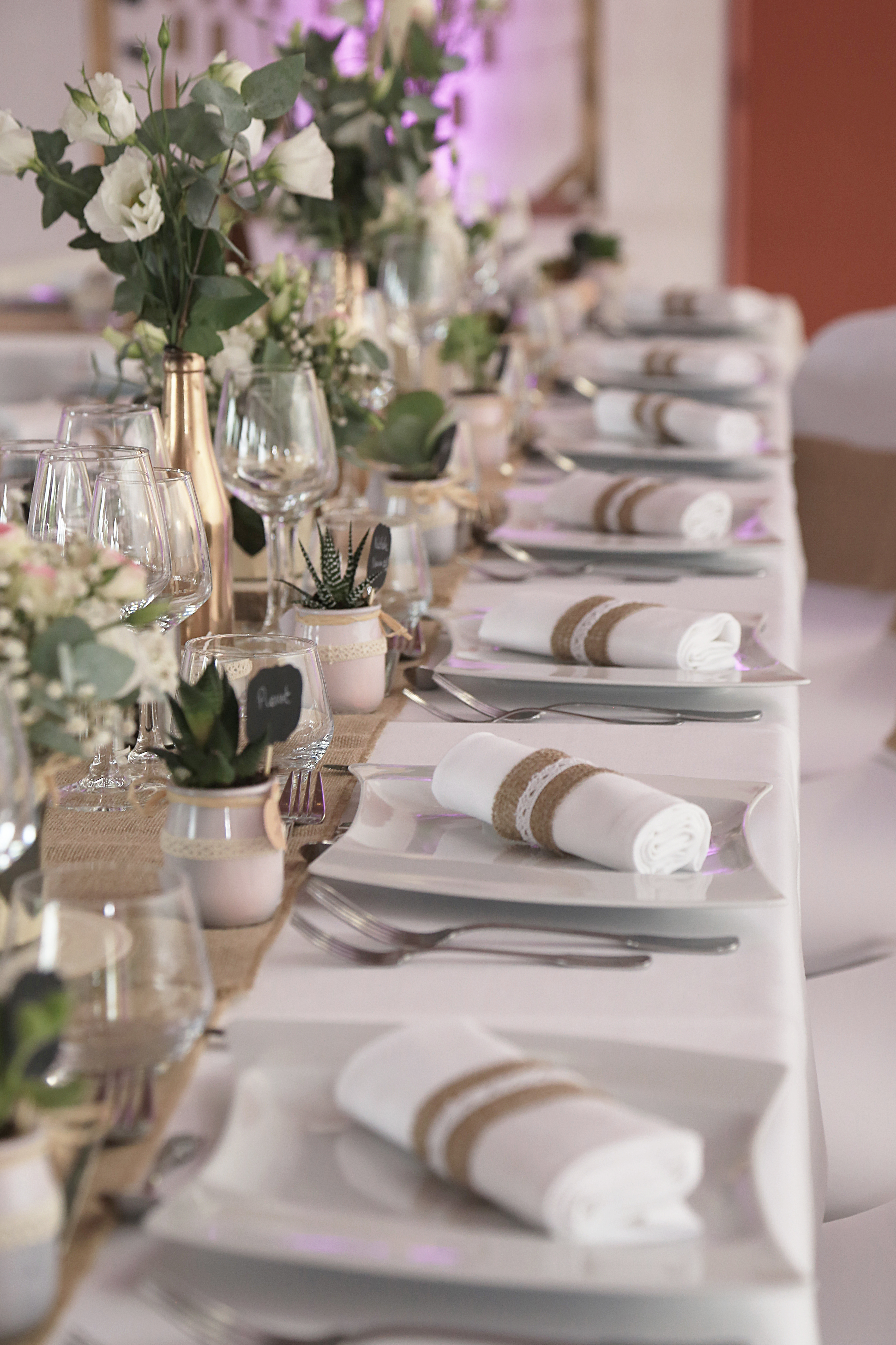 Decoration De Tables Mariage Champetre Homemade For Love