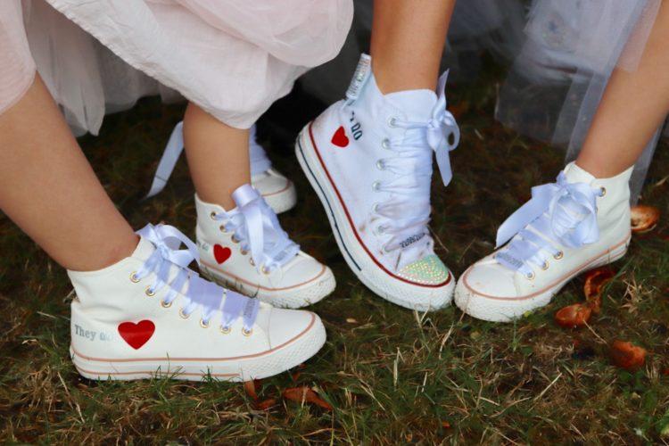 baskets personnalisées mariée et ses filles, mariage Calvados