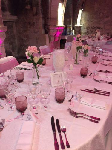 décoration de tables mariage, mariage en Normandie, saison 2018