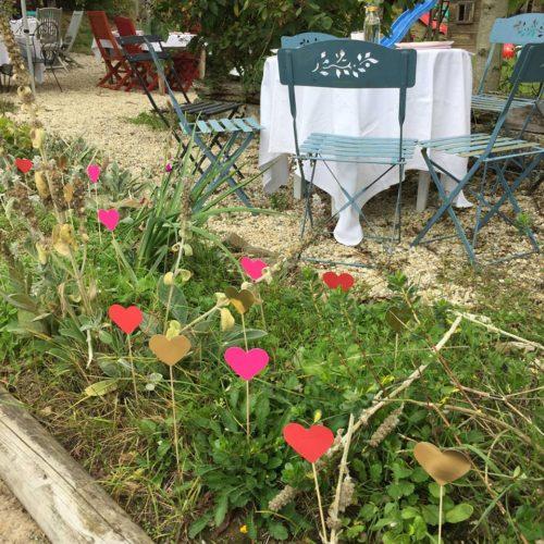 décoration homemade, mariage bohème en Normandie, saison 2018