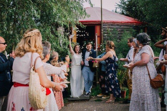 mariage bohème en Normandie, saison 2018