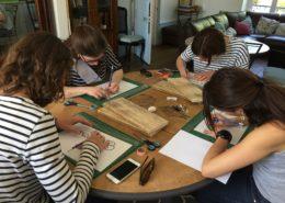 EVJF, entre copines, do it yourself, homemade, handmade, atelier créatif DIY pour EVJF en Normandie