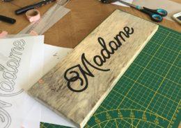 work in progress, do it yourself, décoration de mariage, atelier créatif DIY pour EVJF en Normandie