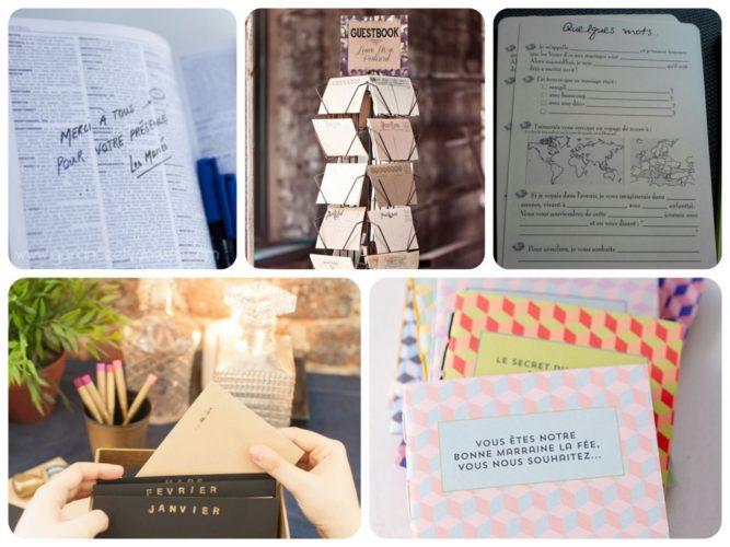 livre d'or, mariage, organisation, jour J, souvenir, invités, idées, homemade