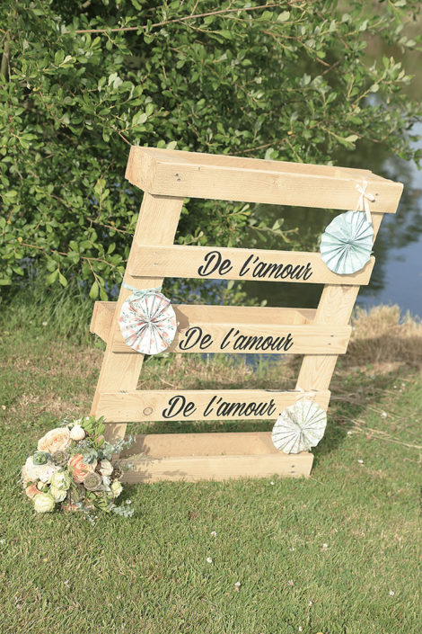 panneau mariage homemade, signalétique mariage, mariage romantique