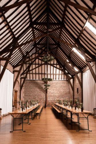 mariage bohème et végétal, décoration de salle