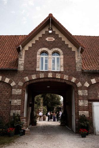 coin accueil mariage, grange, mariage dans les Hauts-de-France