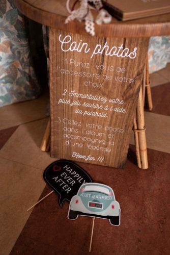 photobooth mariage, have fun, animation de mariage, Polaroïd, mariage boho-folk dans le Nord-Pas-de-Calais