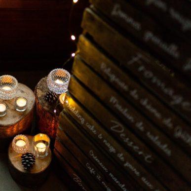scénographie menu mariage, Homemade for Love, décoratrice de mariages en Normandie