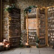 menu et plan de table mariage, escort card, Homemade for Love décoratrice de mariages en Normandie