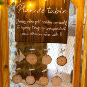 plan de table, escort carde, Homemade for Love, décoratrice de mariages en Normandie
