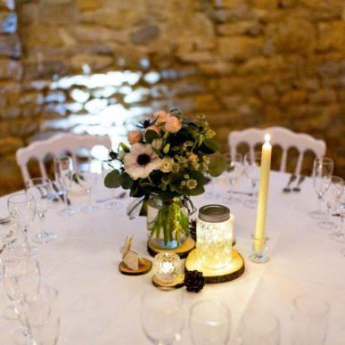 Décoration mariage d'hiver par Homemade for Love