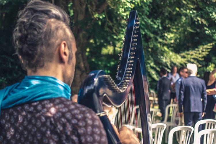 cérémonie d'engagement aux Jardins du Pays d'Auge de Cambremer