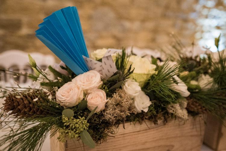 table des mariés, décoration florale, mariage d'hiver, Homemade for Love