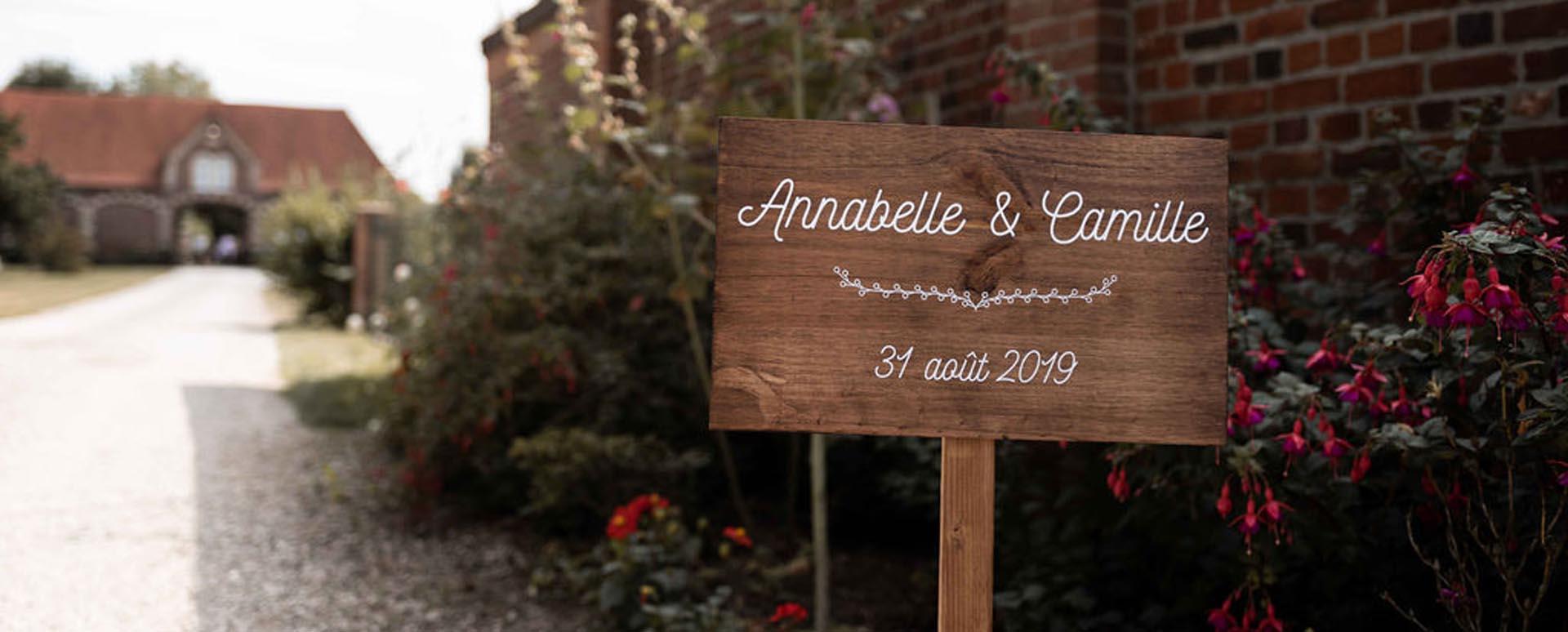 décoration de mariages en Normandie